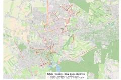 Istniejące oraz projektowane ze środków gminy ścieżki rowerowe