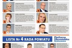 Gazetka wydana przed wyborami samorządowymi 2018