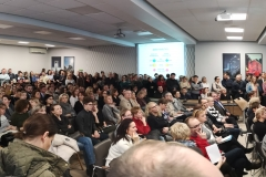 Konferencja dotycząca rekrutacji do szkół średnich - foto Marcin Borkowski