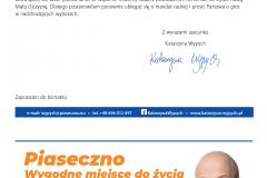 List do mieszkańców Piaseczna