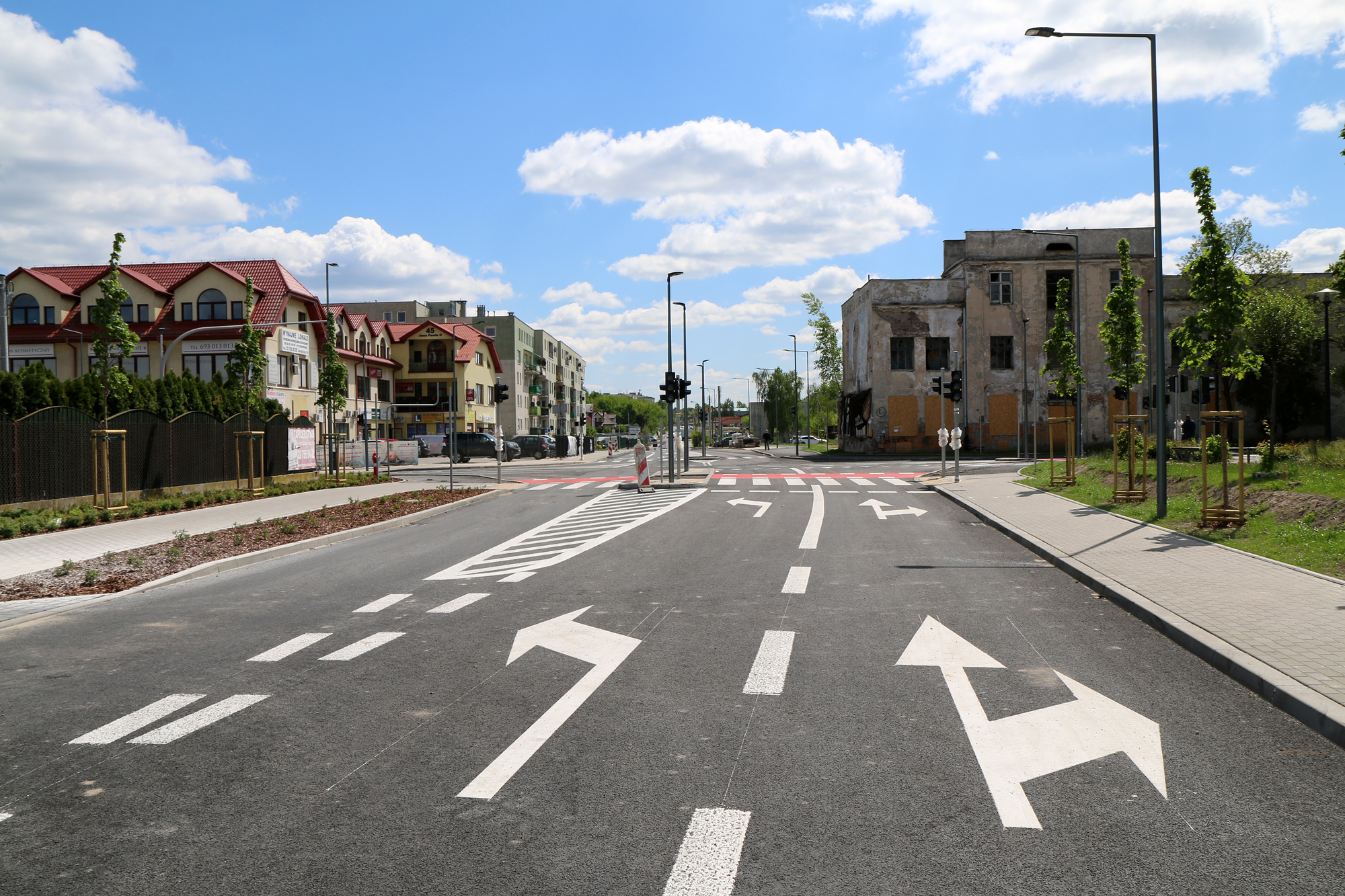 Otwarcie skrzyżowania ulic Dworcowa, Jana Pawła II, Jarząbka oraz Jana Pawła II z Powstańców Warszawy