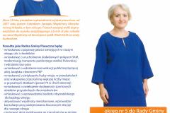 Wybory samorządowe gmina Piaseczno 2014 - ulotka Katarzyna Wypych