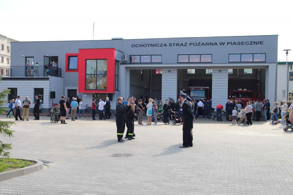 Nowa strażnica OSP Piaseczno