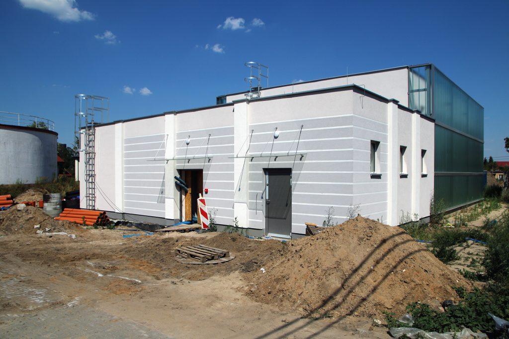 Stacja uzdatniania wody przy ul. Żeromskiego w Piasecznie