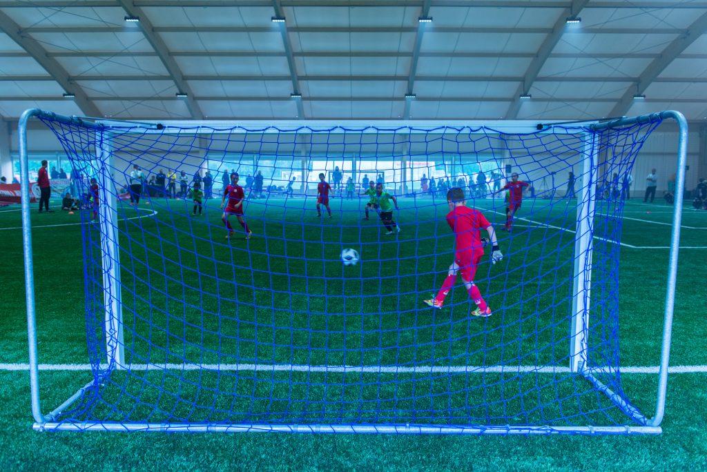 Otwarcie krytego boiska piłkarskiego