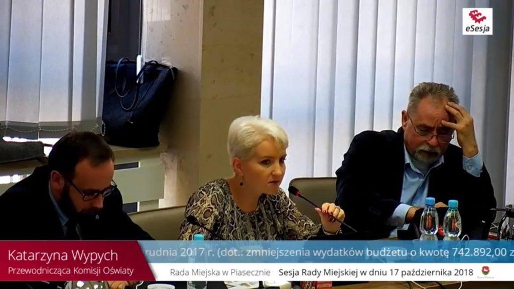 Katarzyna Wypych podczas sesji
