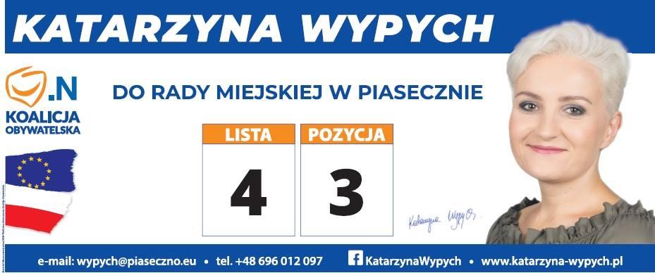 Kandyduję do Rady Miasta w Piasecznie