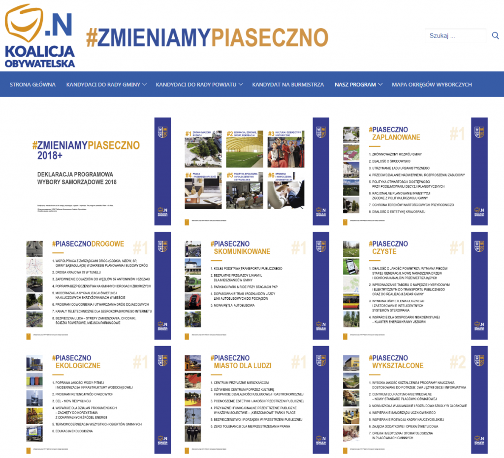 Koalicja Obywatelska - program i kandydaci
