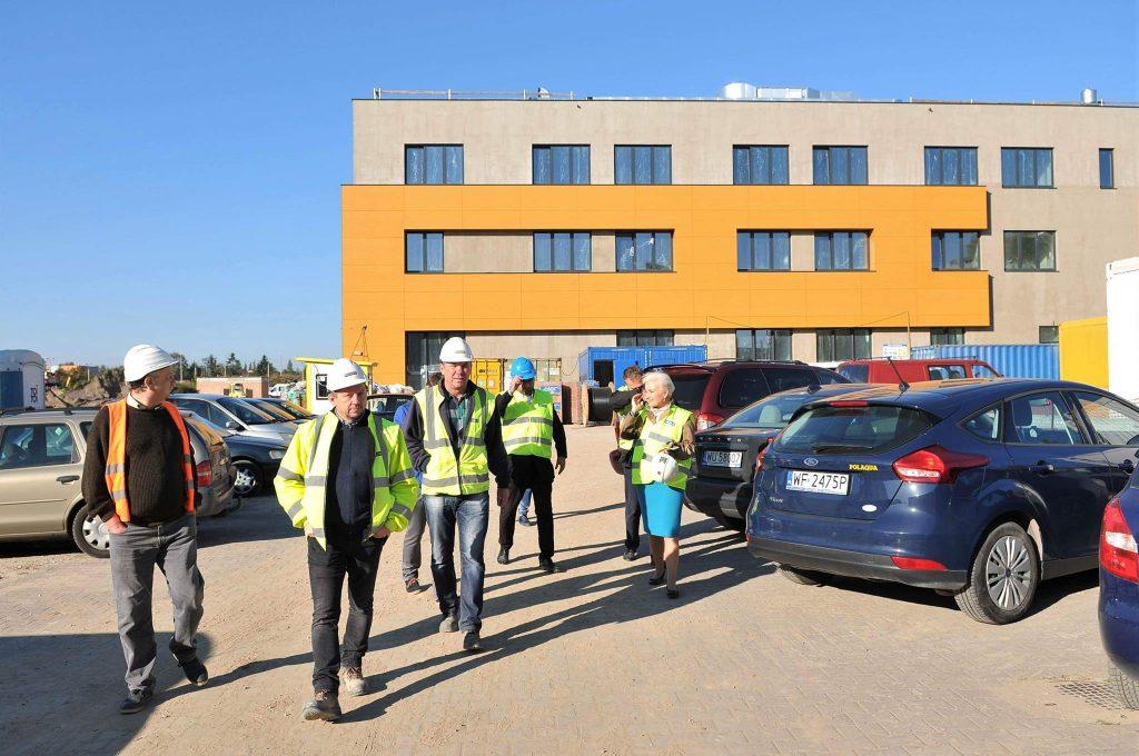 Wizyta na budowie CEM