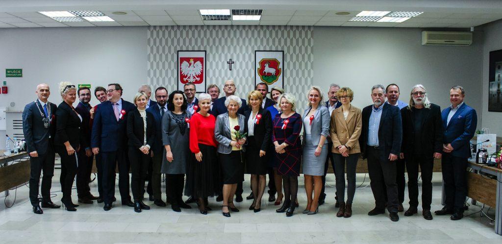 Wspólne zdjęcie na zakończenie kadencji 2014-2018 (foto: Marcin Borkowski)