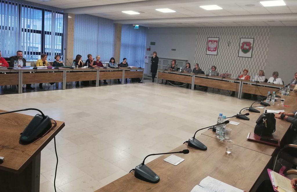 Spotkanie Komisji Oświaty z Dyrektorami