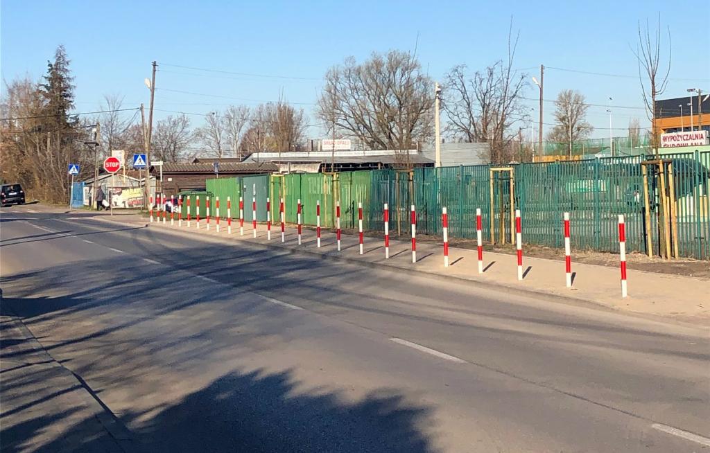 Powstał chodnik przy ul. Nadarzyńskiej