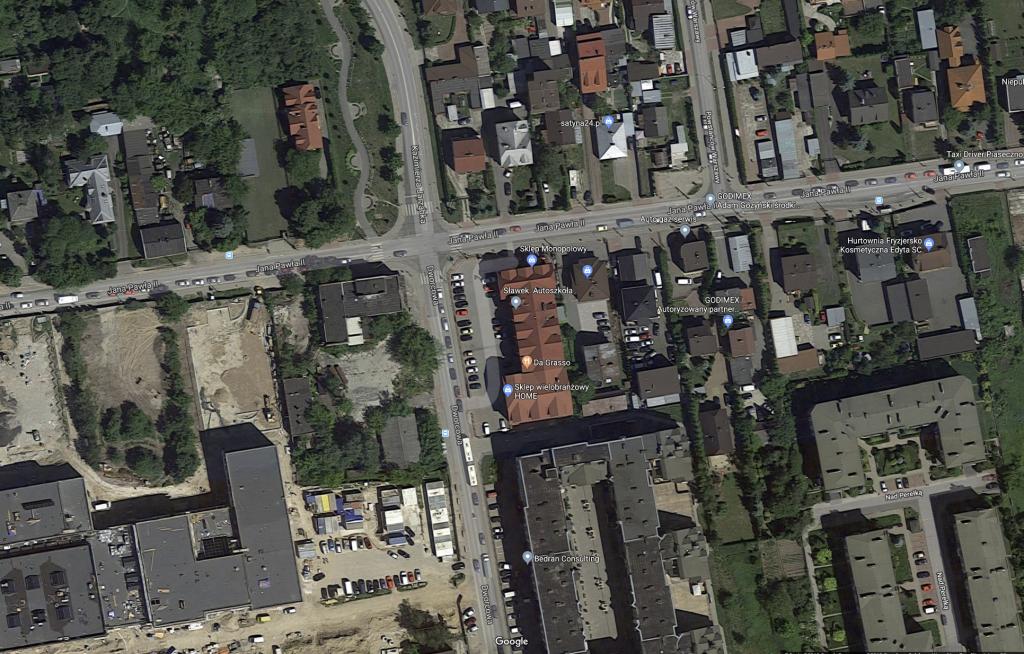Przebudowa skrzyżowania ulic Dworcowej, Jana Pawła II oraz Jarząbka