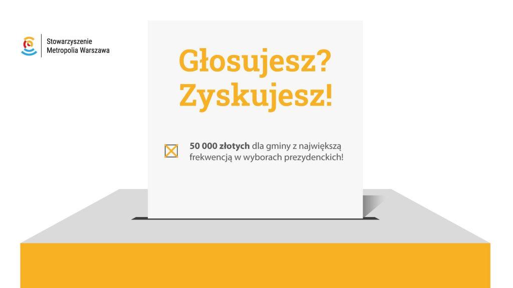 50 tys. zł dla gminy z najwyższą frekwencją w wyborach