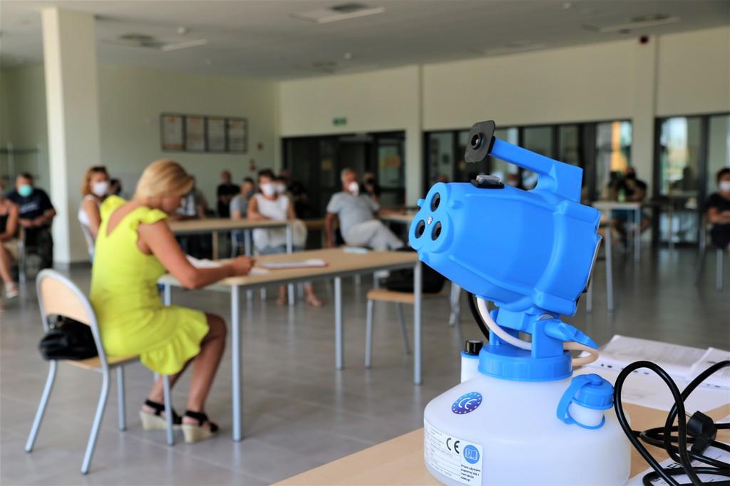 Dezynfekcja przedszkoli i szkół na terenie gminy Piaseczno