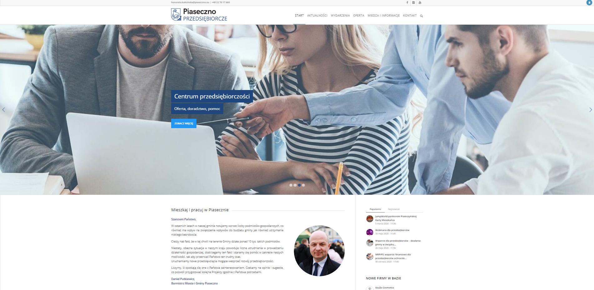 Portal dla przedsiębiorców