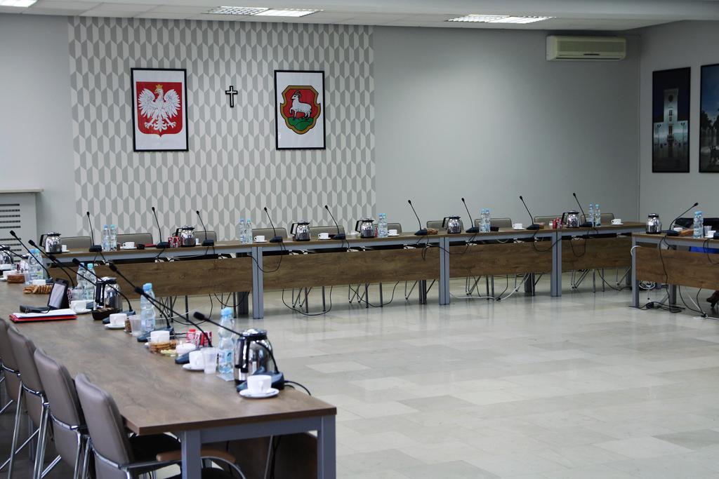 Sala konferencyjna Sesja Rady Miejskiej w Piasecznie foto: Marcin Borkowski