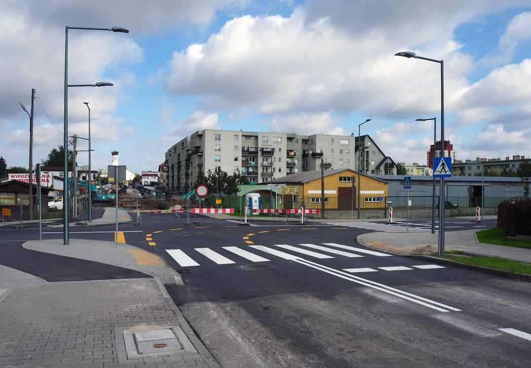 Otwarte zostało skrzyżowanie ulic Nadarzyńskiej z Dworcową