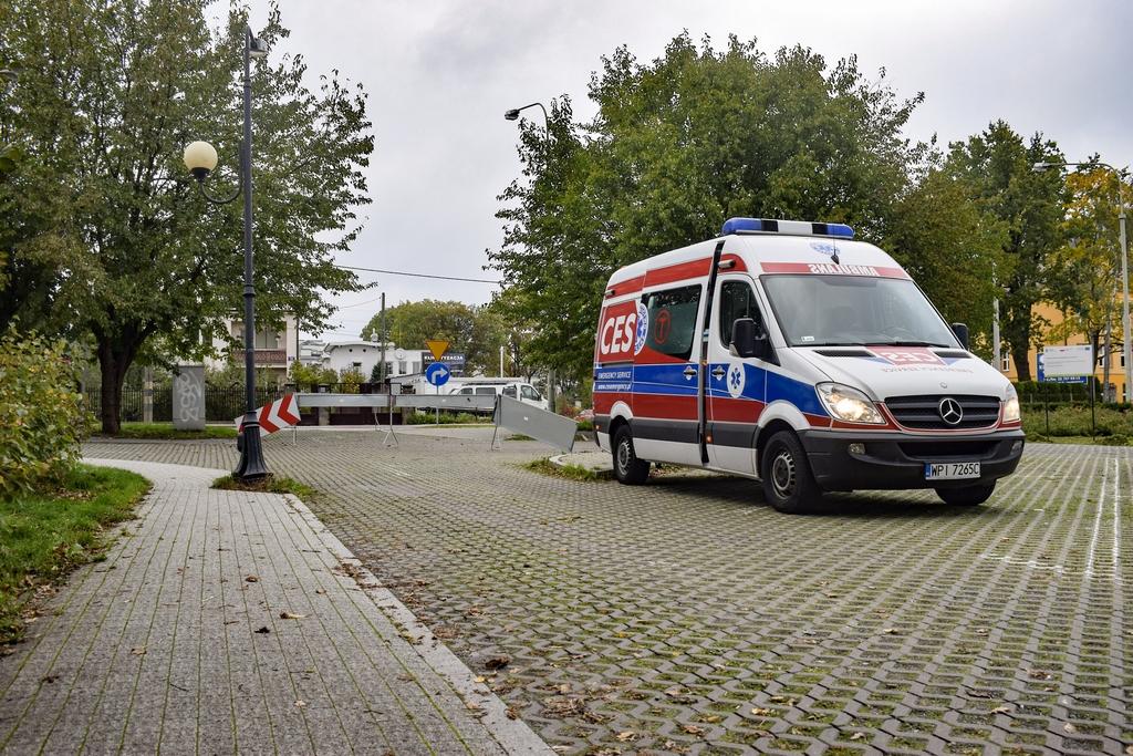 Mobilny Punkt Diagnostyczny przy Starostwie Powiatowym w Piasecznie