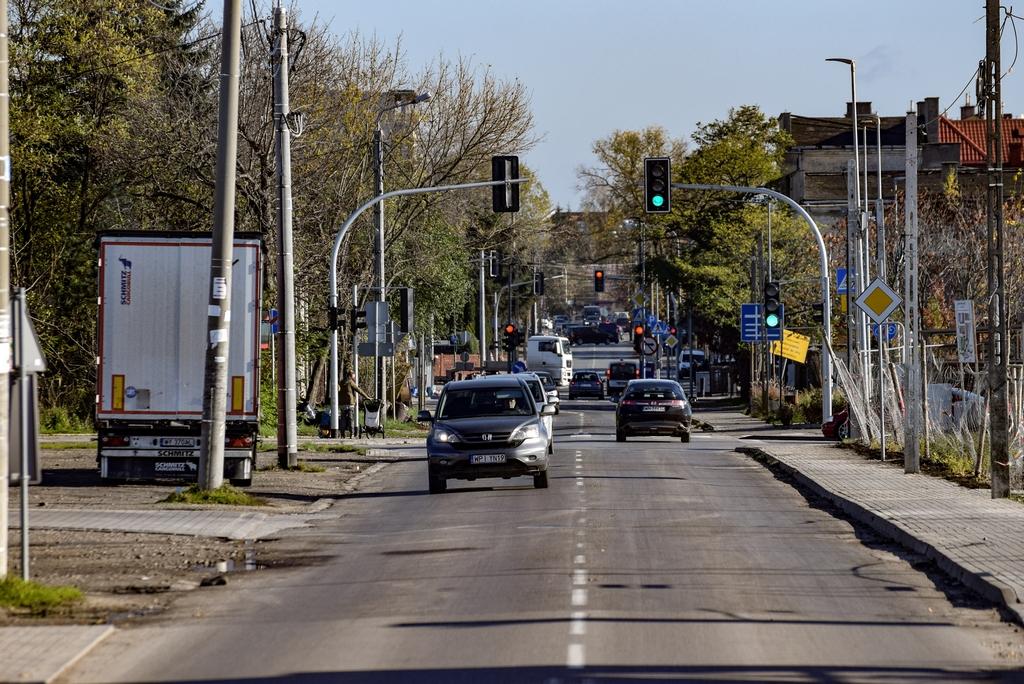 Przebudowa ulicy Jana Pawła II na odcinku od ul. Dworcowej do Żytniej