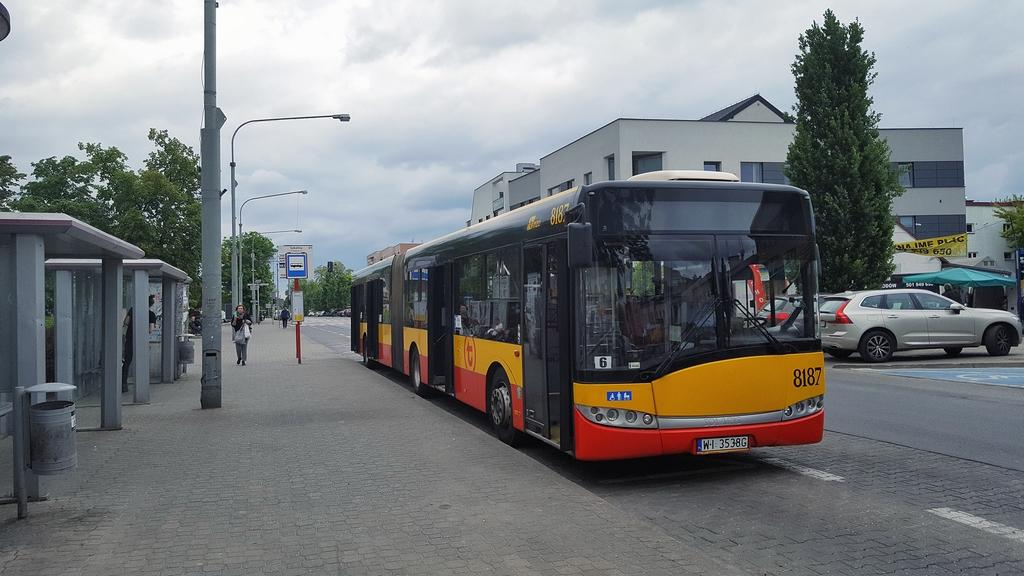 Od 4 maja zmiany podziału kursów linii 709 oraz inne komunikaty ZTM. Foto Marcin Borkowski