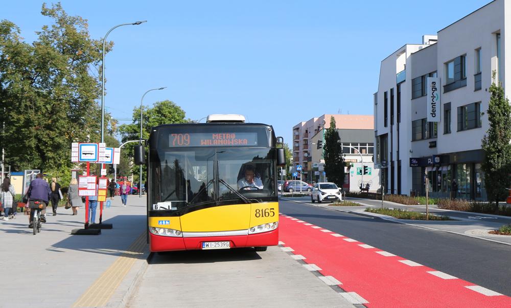 Autobus 709 oraz linie L wrócą na ul. Dworcową w Piasecznie. Foto Marcin Borkowski