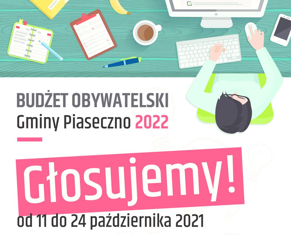 Budżet Obywatelski Piaseczna na rok 2022